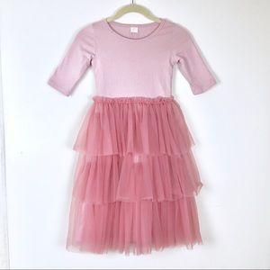 Other - NWT.  Three Quarter Sleeve Pink Tutu Dress. 5T/6T